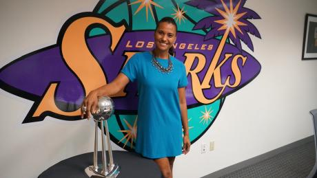Former LA Sparks Christine Simmons COO Talks About Getting Over Opinions